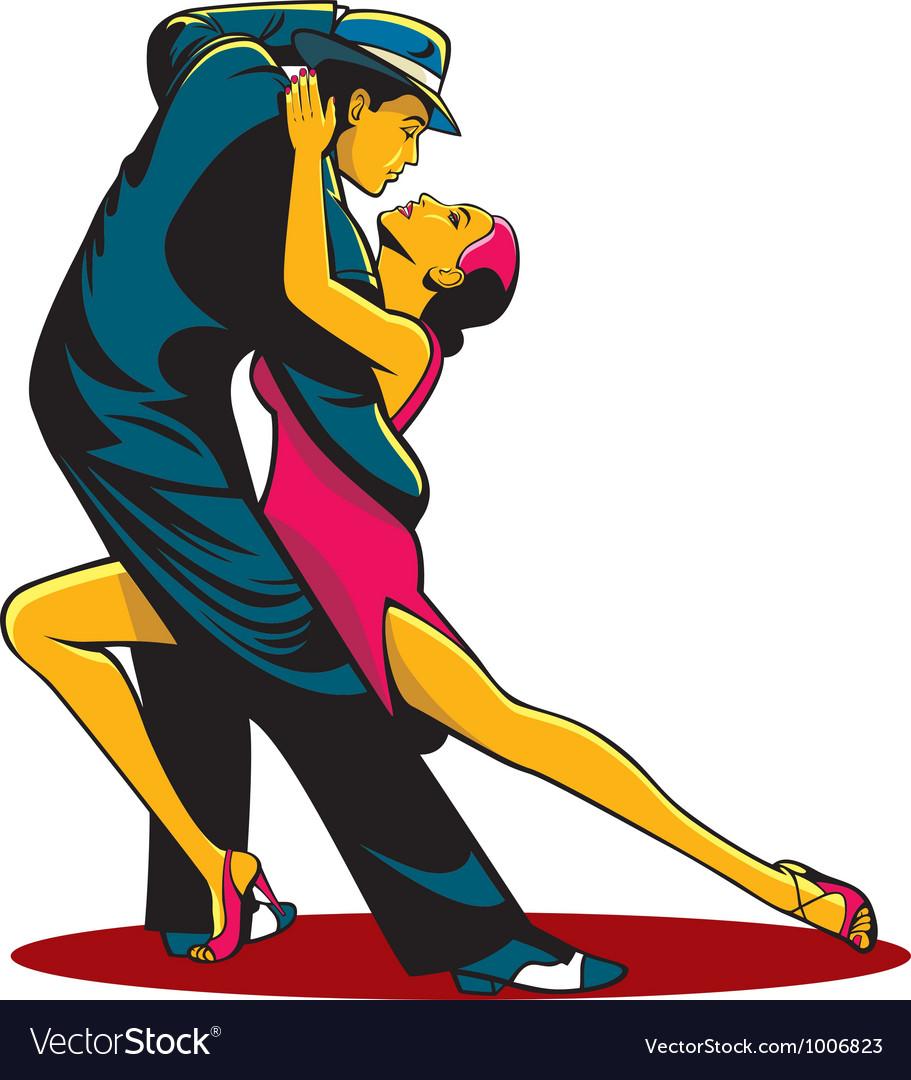 Tango color vector image