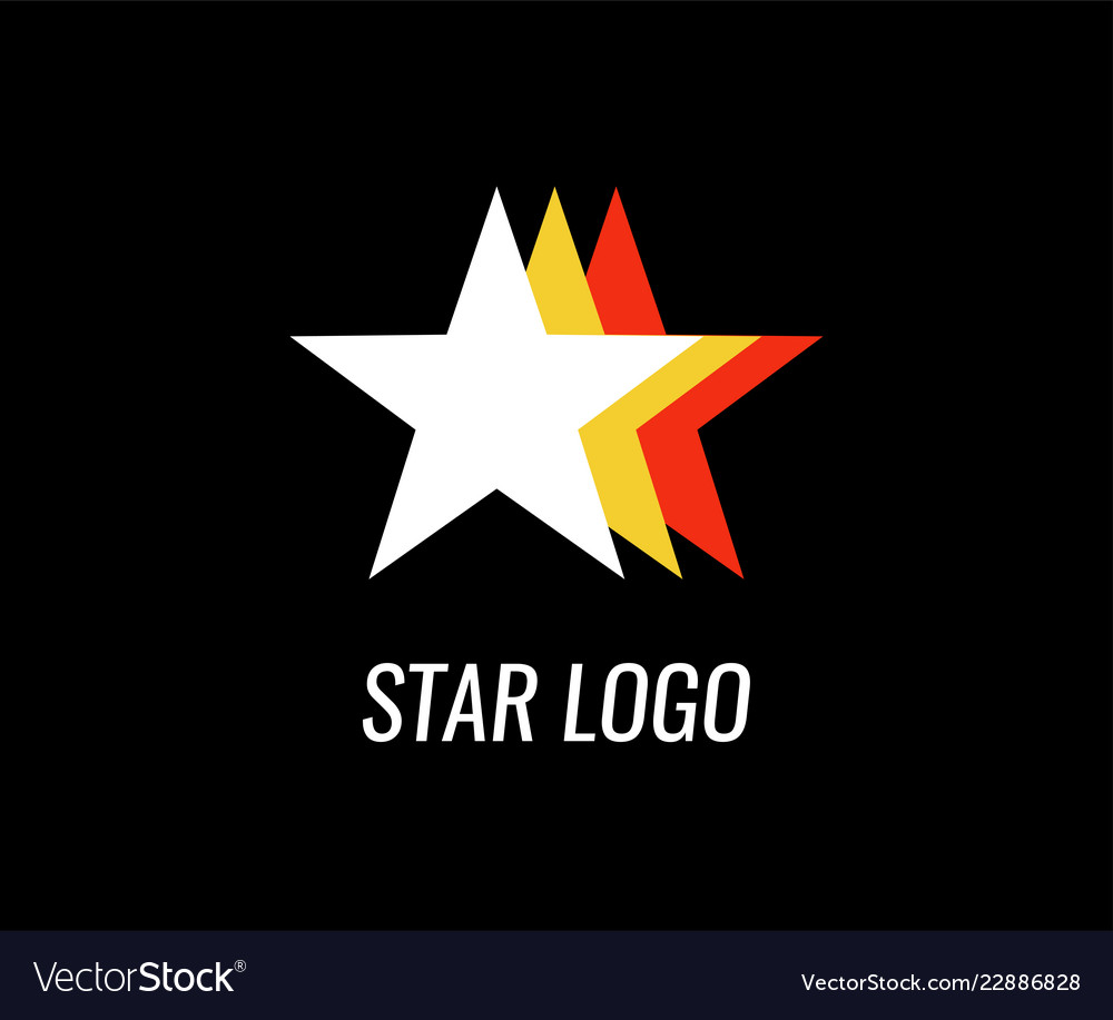 Logo of star for business company with style