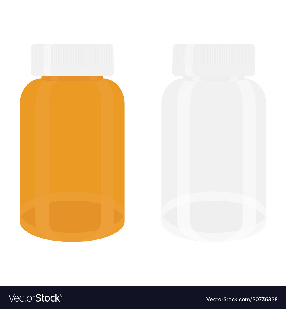 White and yellow vector image