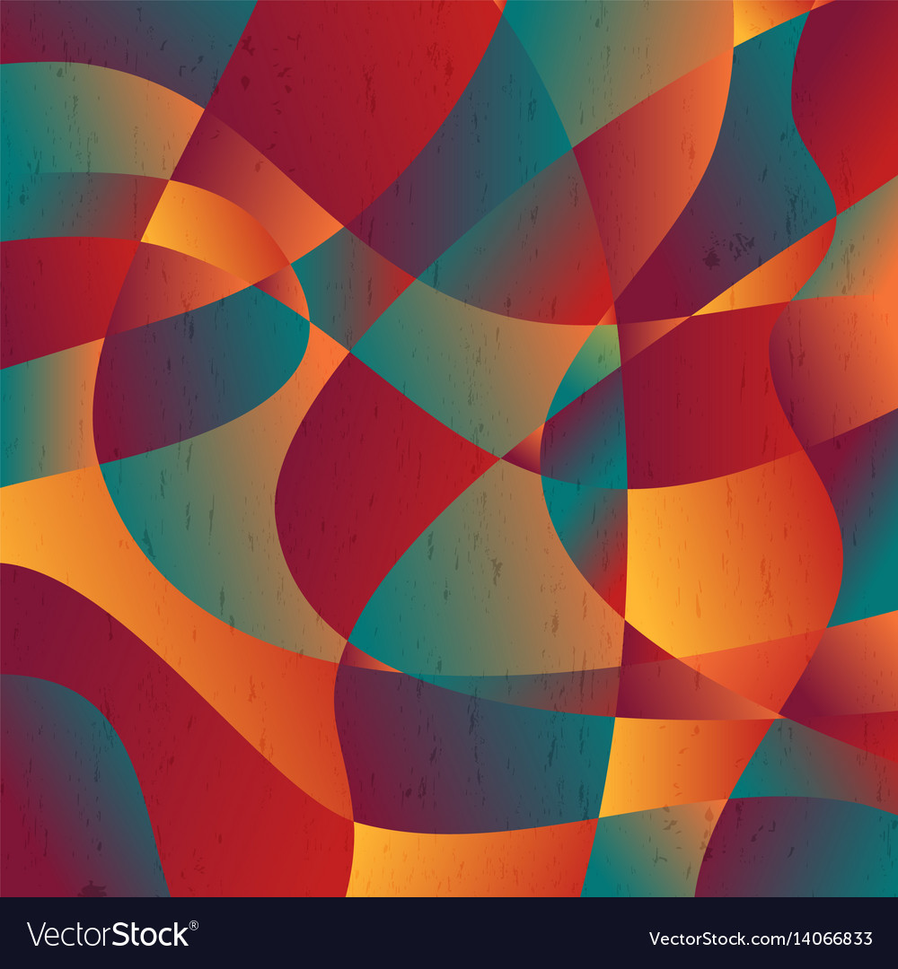 Abstract Colorful Curve Shape Background