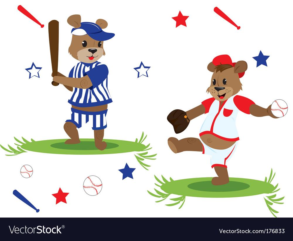 Baseball teddy