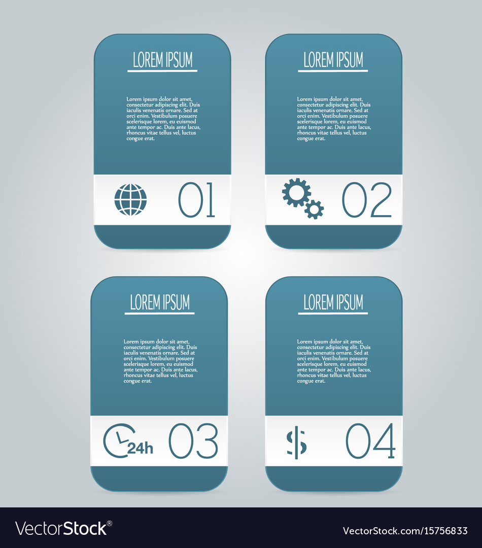 Modern infographics colorful design