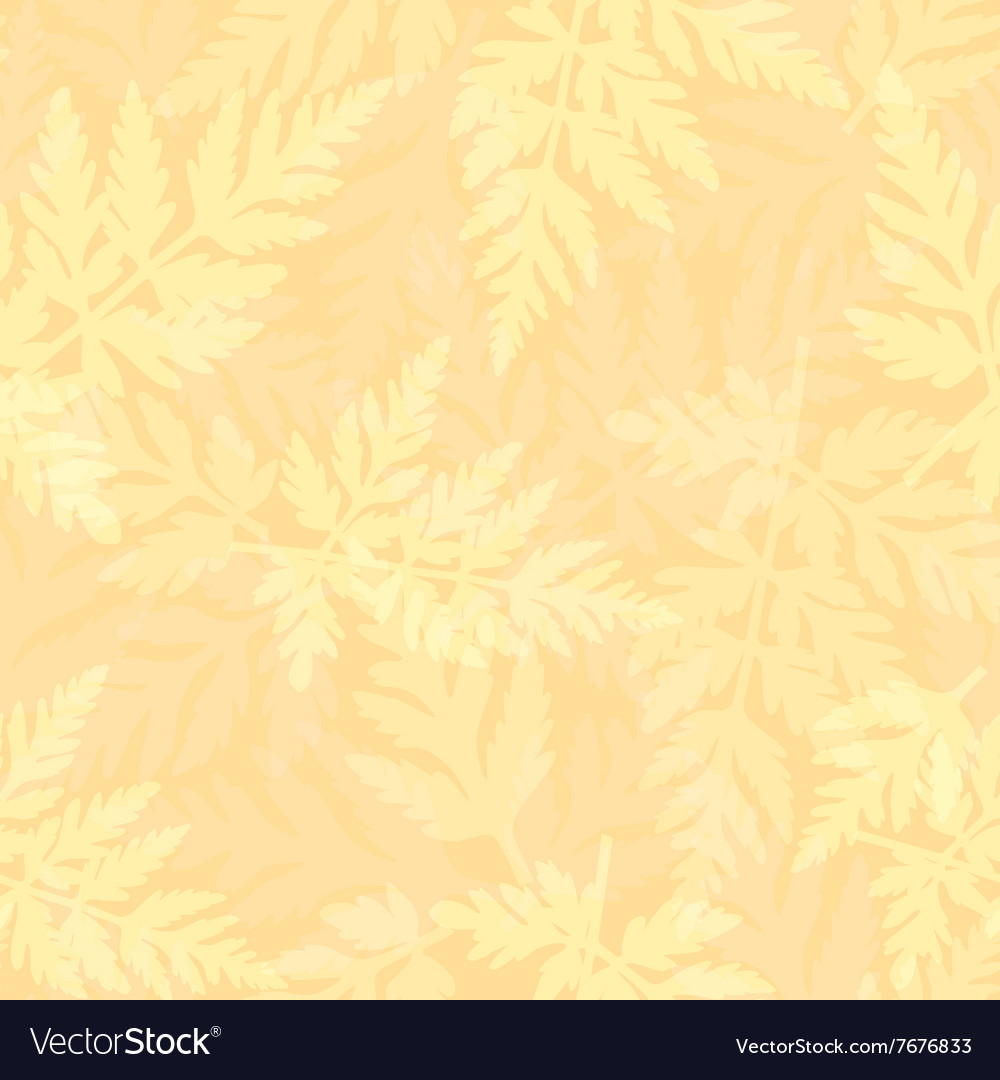 Seamless pattern with fern