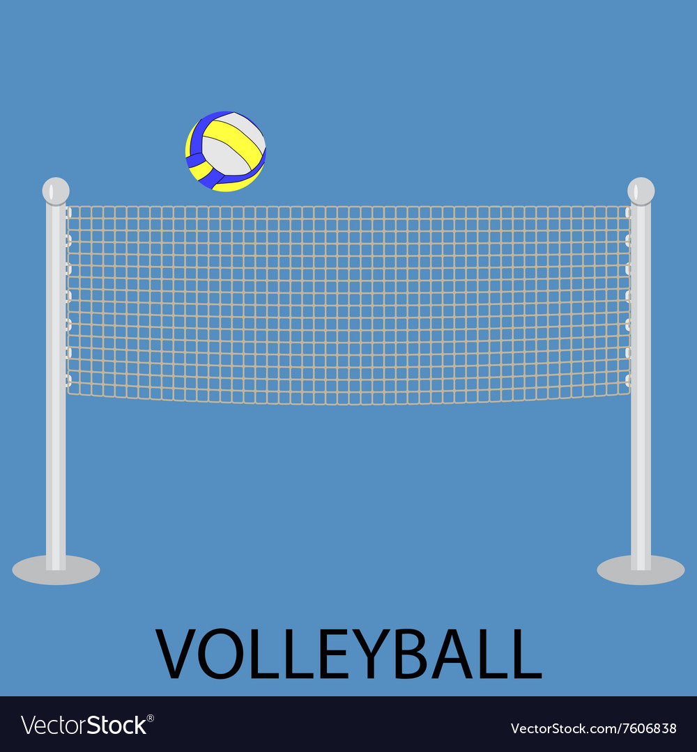 Volleyball sport icon
