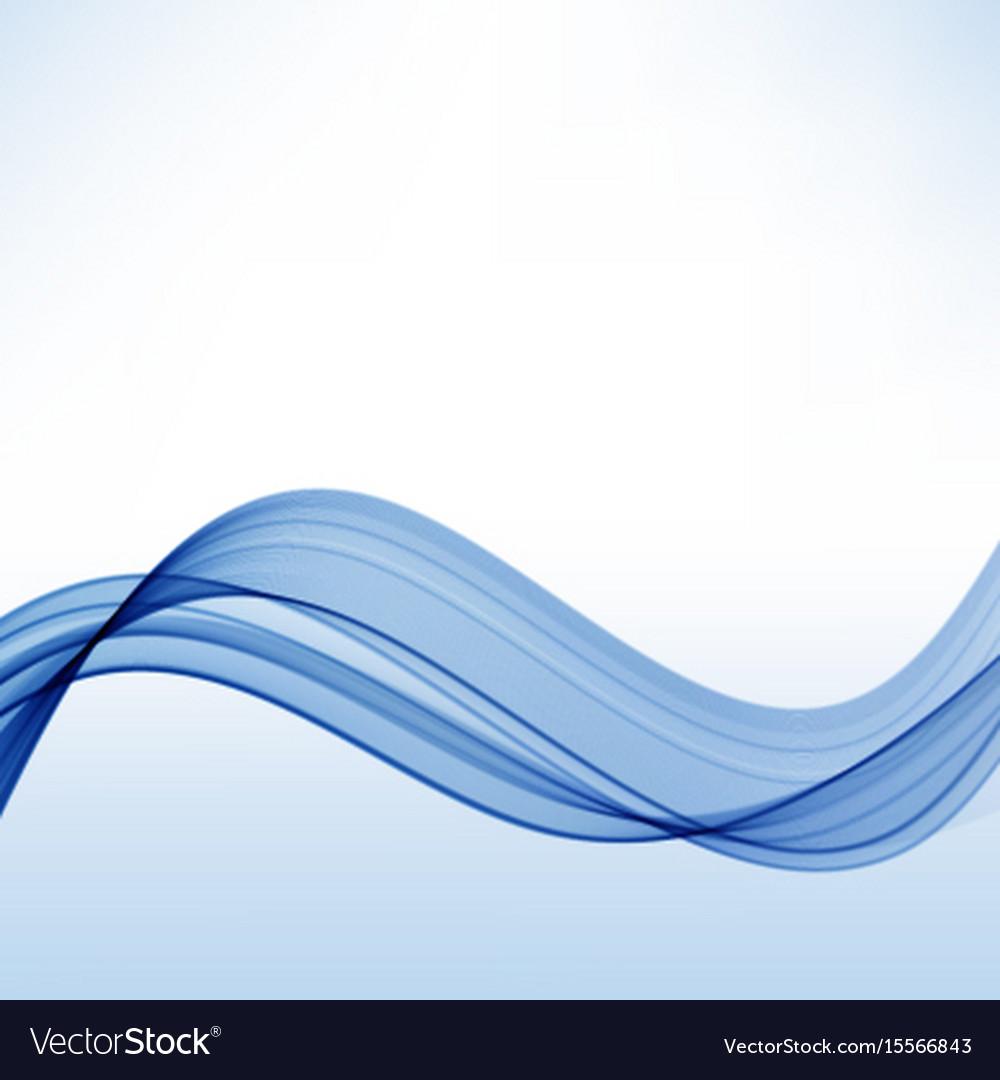 Elegant Abstract Blue Background Wavy Transparent