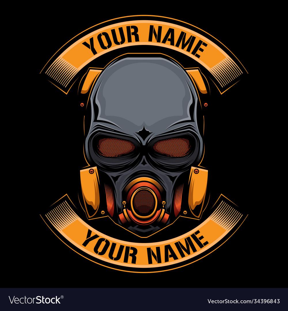 Simple mask logo