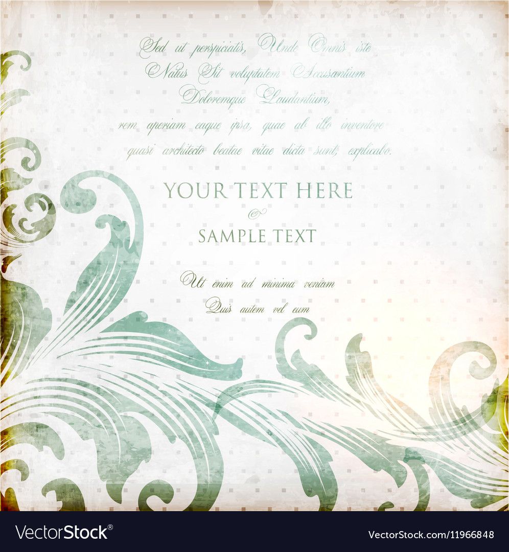 Rustic invitation royalty free vector image vectorstock rustic invitation vector image stopboris Image collections