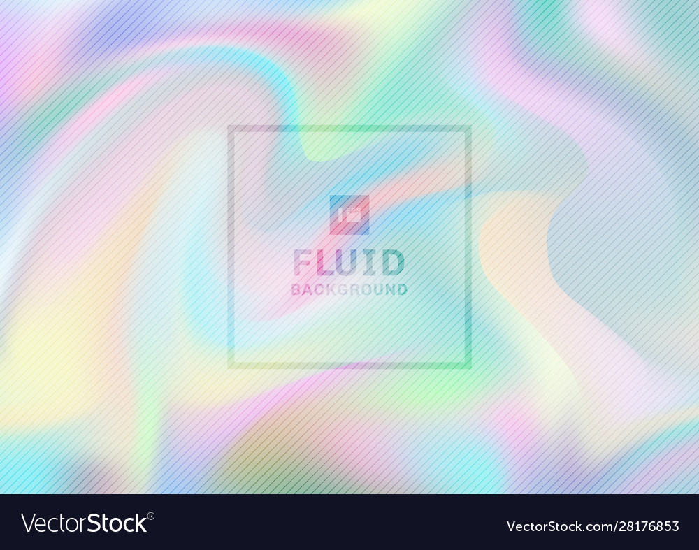 Abstract iridescent paper holographic background