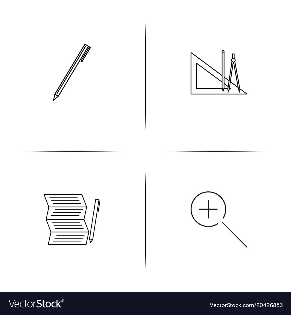 Creative process and design simple linear icon