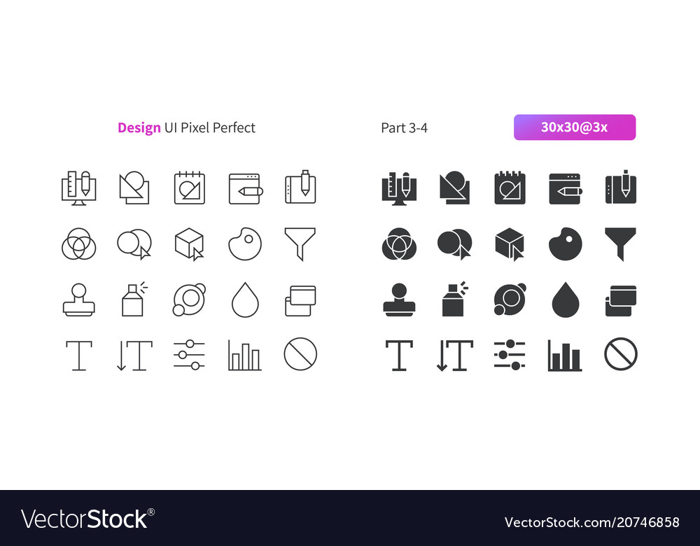 Graphic design ui pixel perfect well-crafted