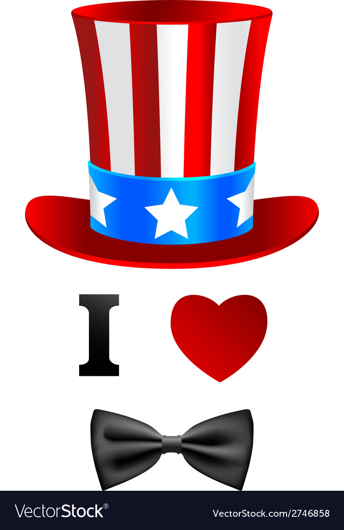 I love Uncle Sam card
