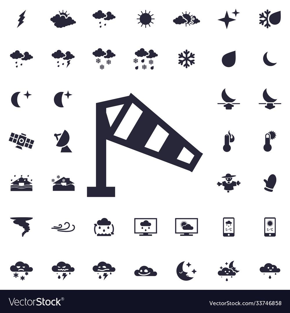 Wind measurement icon