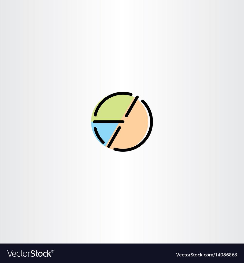Pie chart icon symbol element