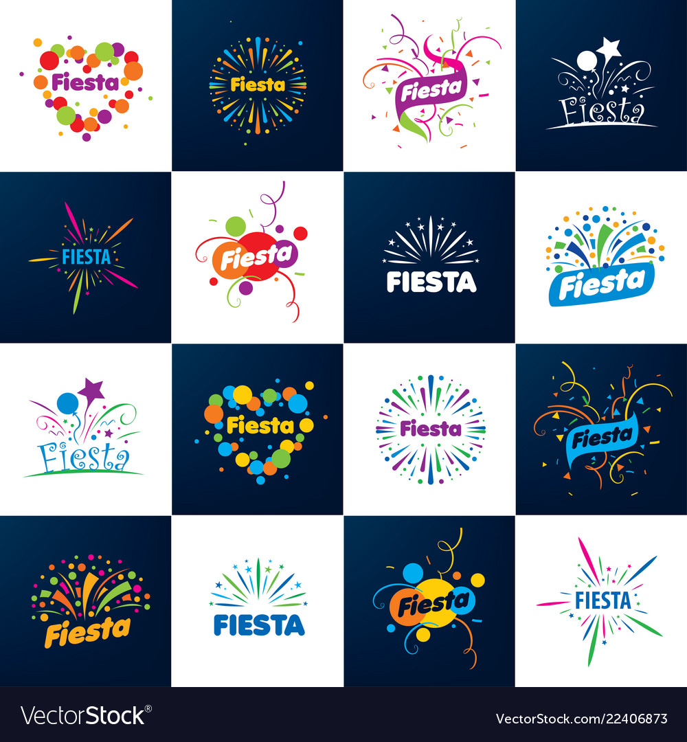 Abstract logo for the fiesta