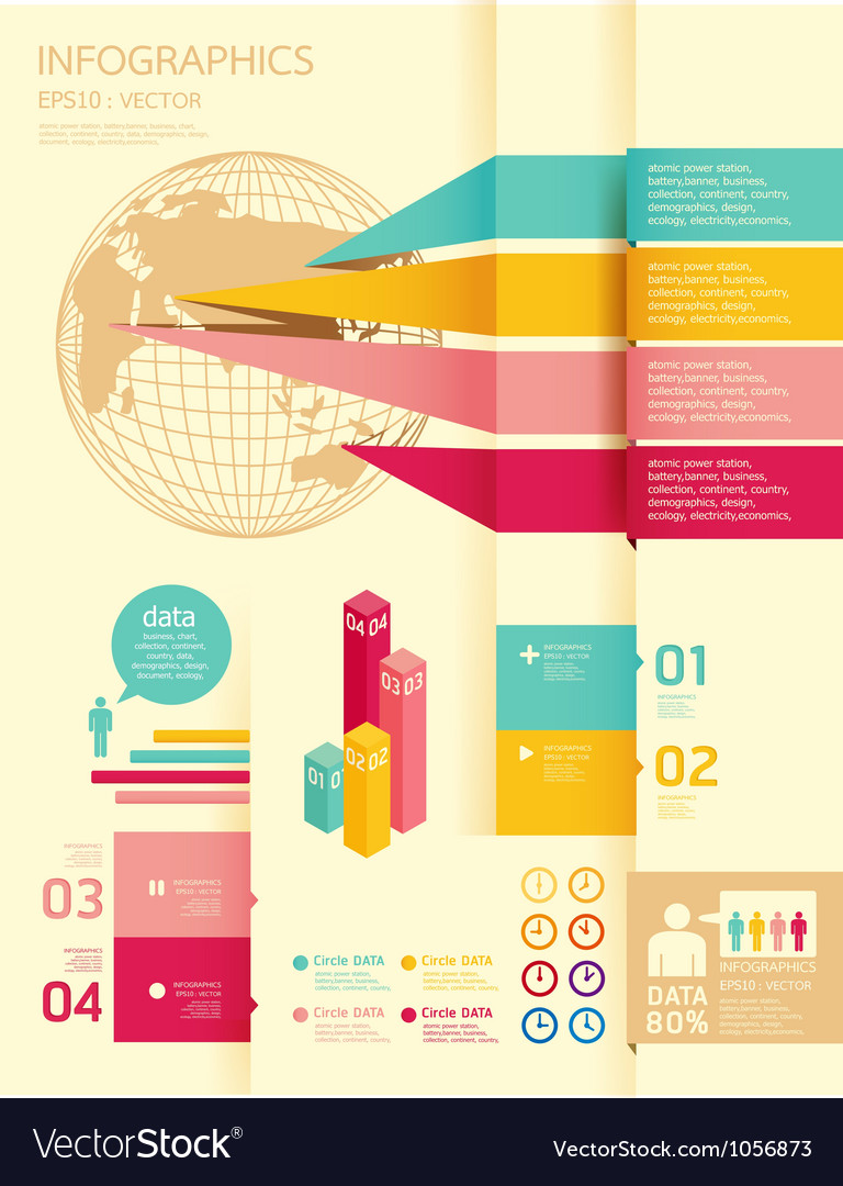 Infographics set and Information Graphics