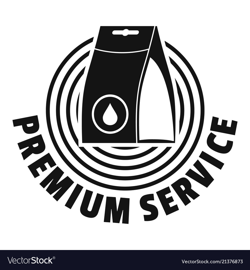 Laundry service logo simple style