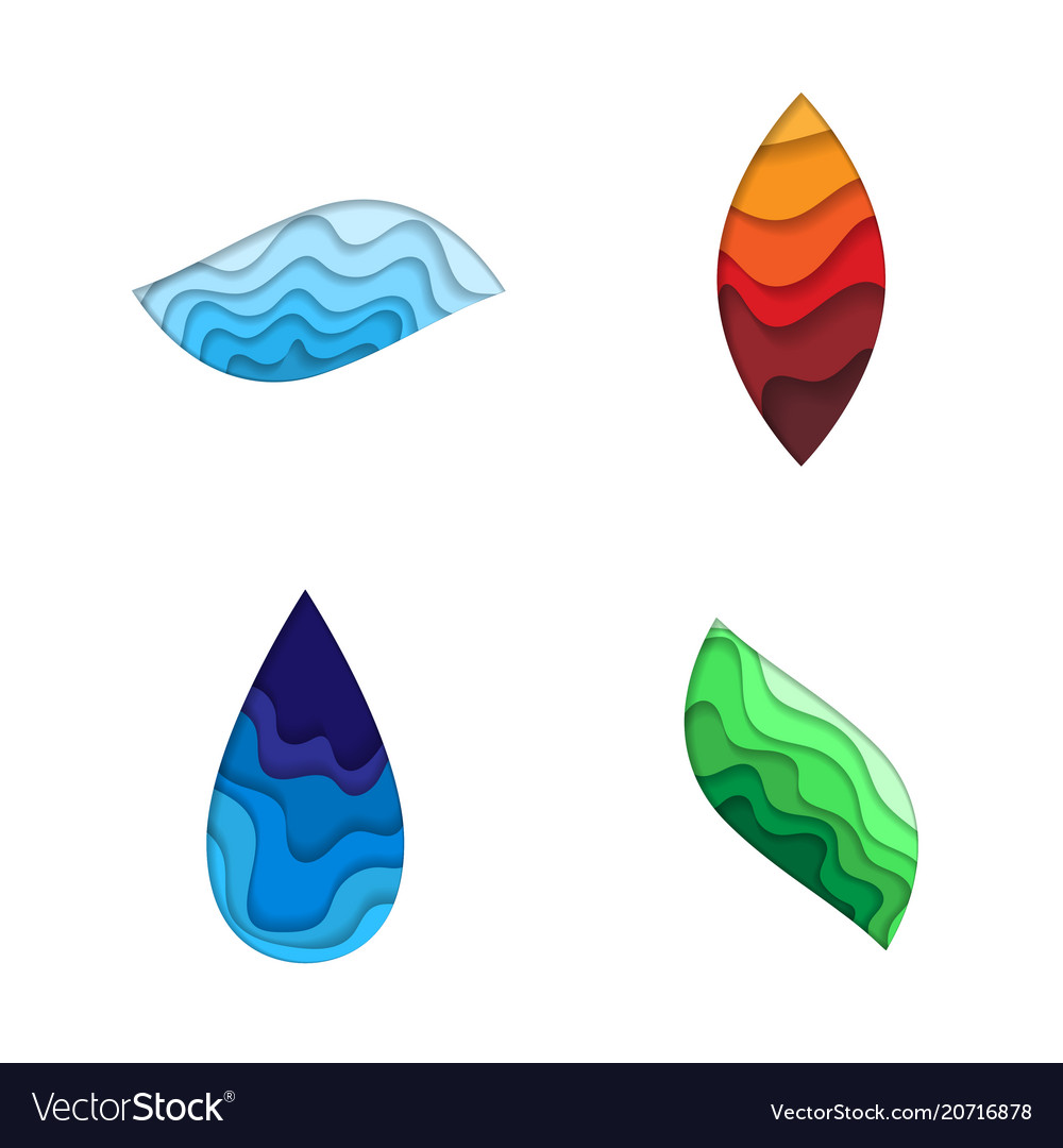 Four nature elements