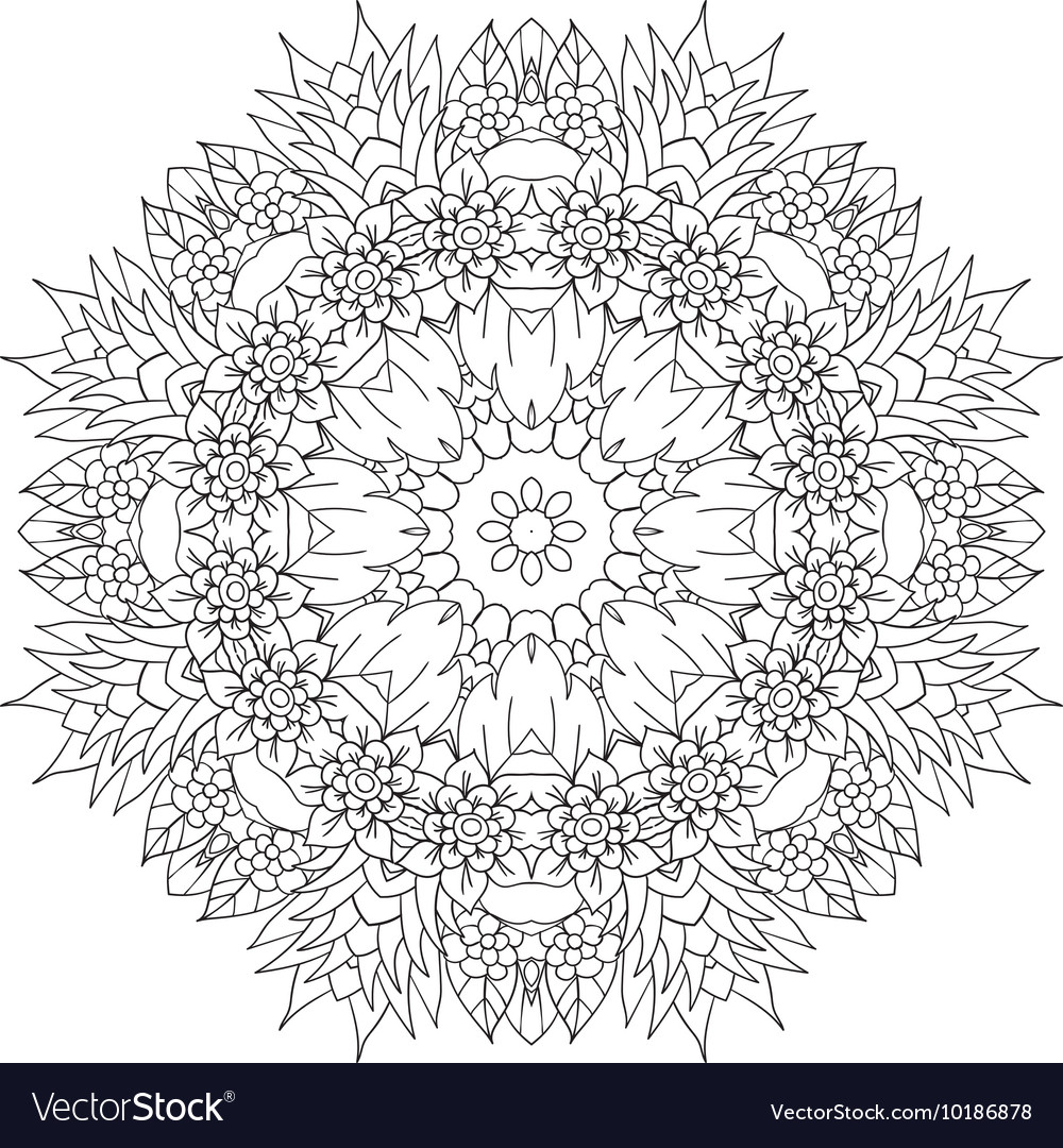 Mandala Ethnic decorative elements Hand drawn