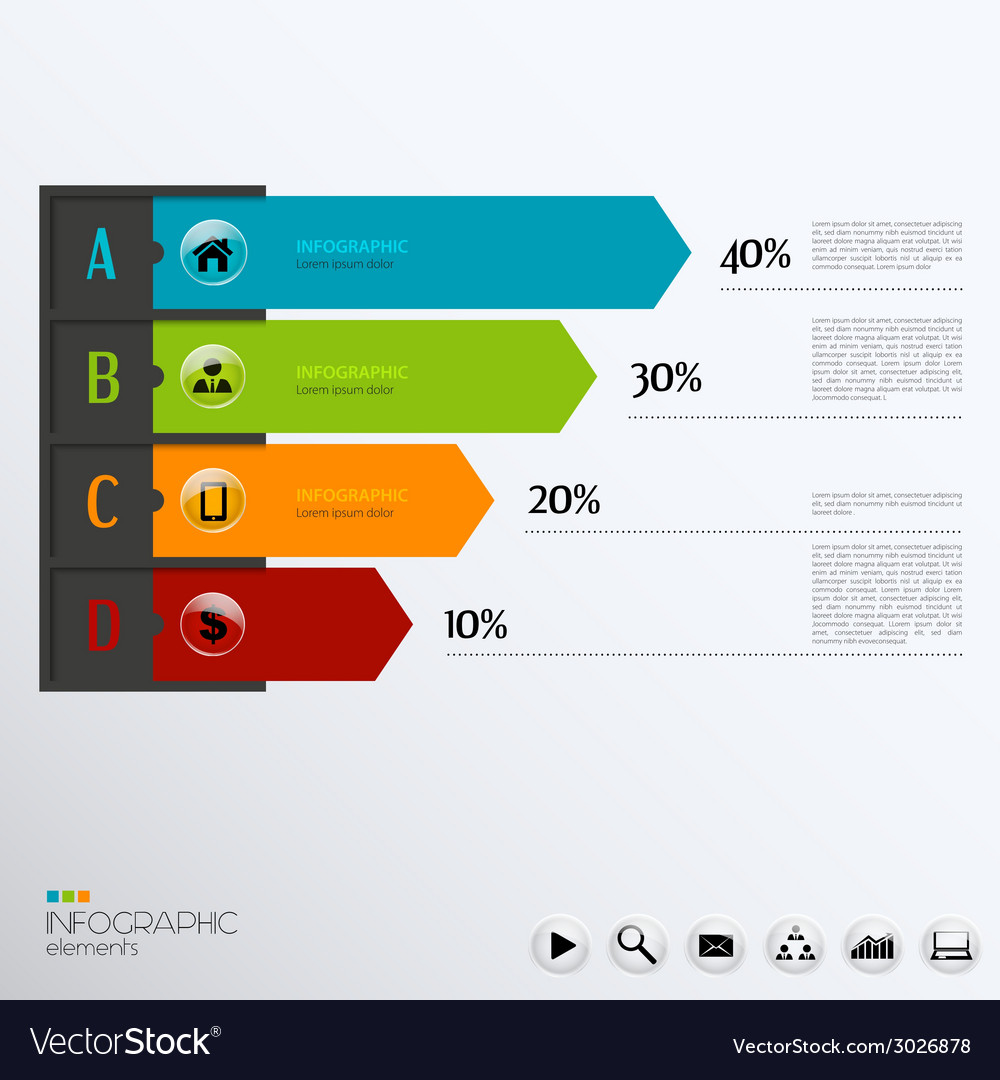 Template for infographic
