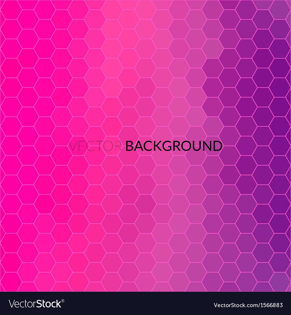 Digital hexagon pixel mosaic bright background