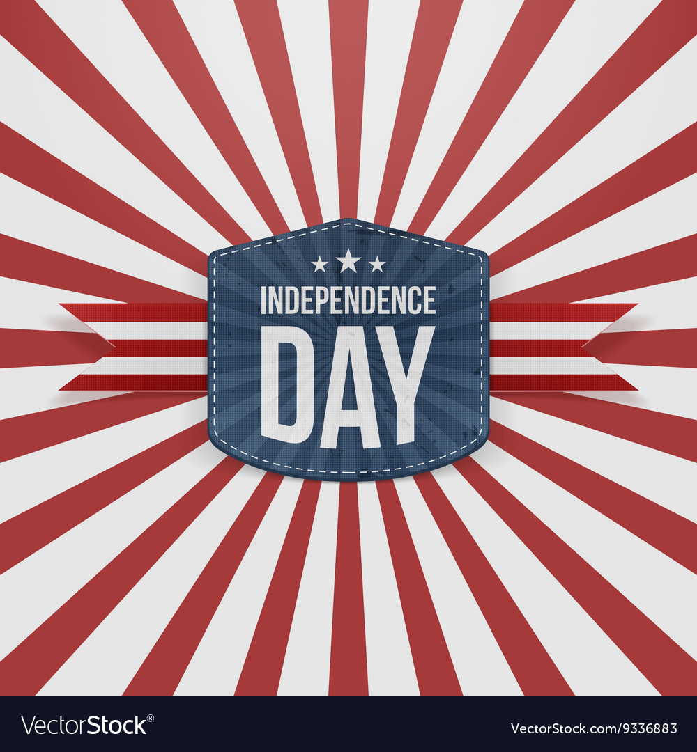 Independence Day striped Background
