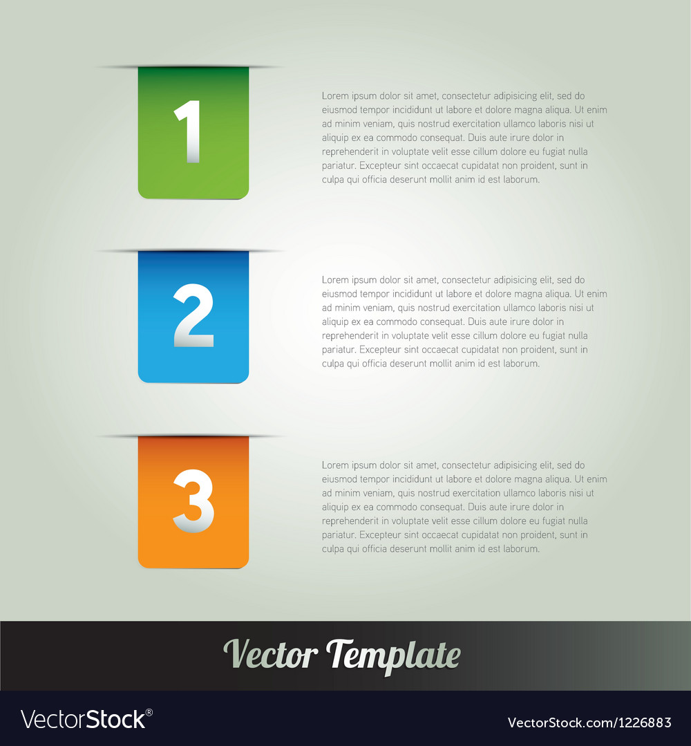 Modern design template