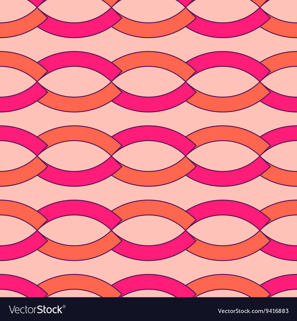 Wave geometric seamless pattern 3903