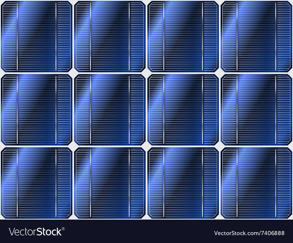 Solar battery vector image
