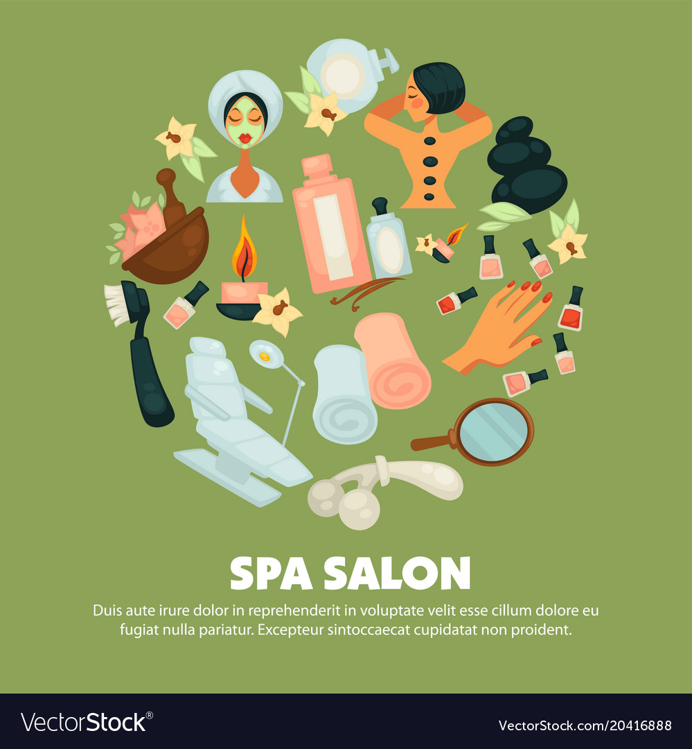 Spa salon with high quality skincare services
