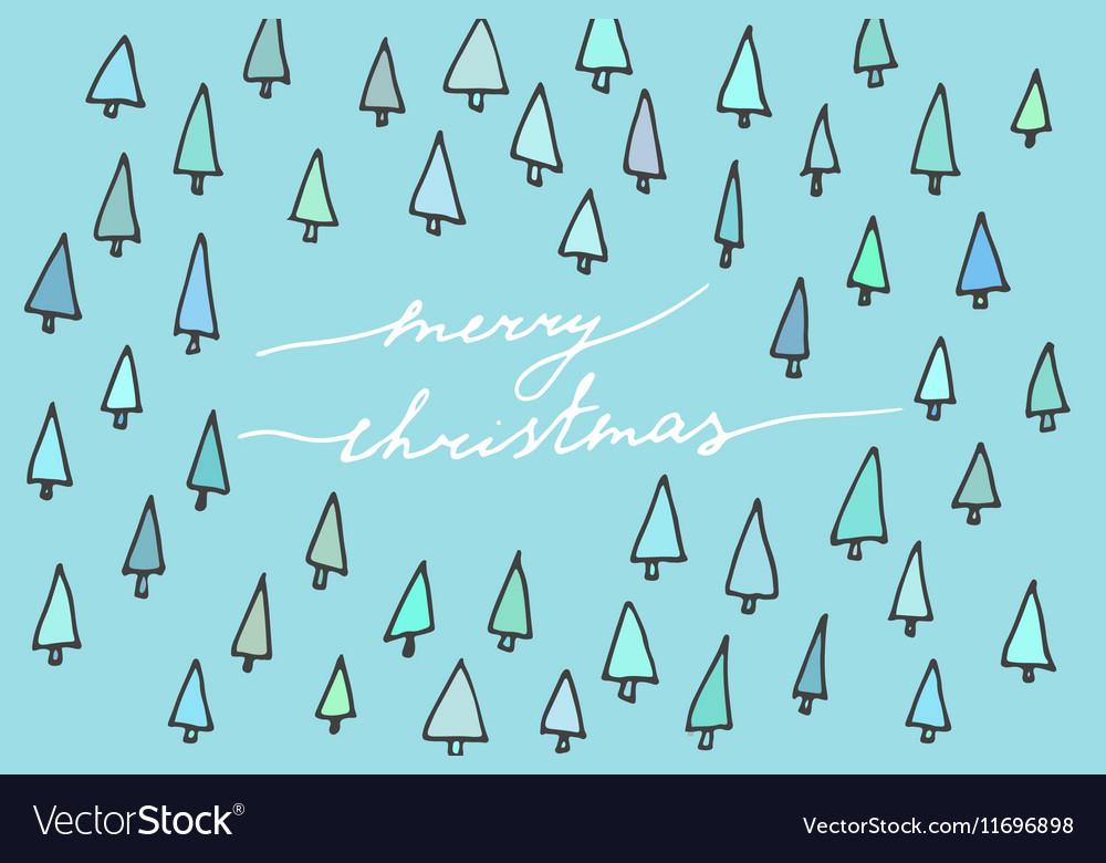 Christmas simple postcard