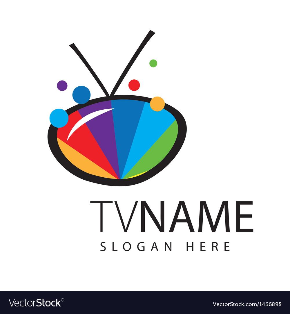 Logo screen TV color range