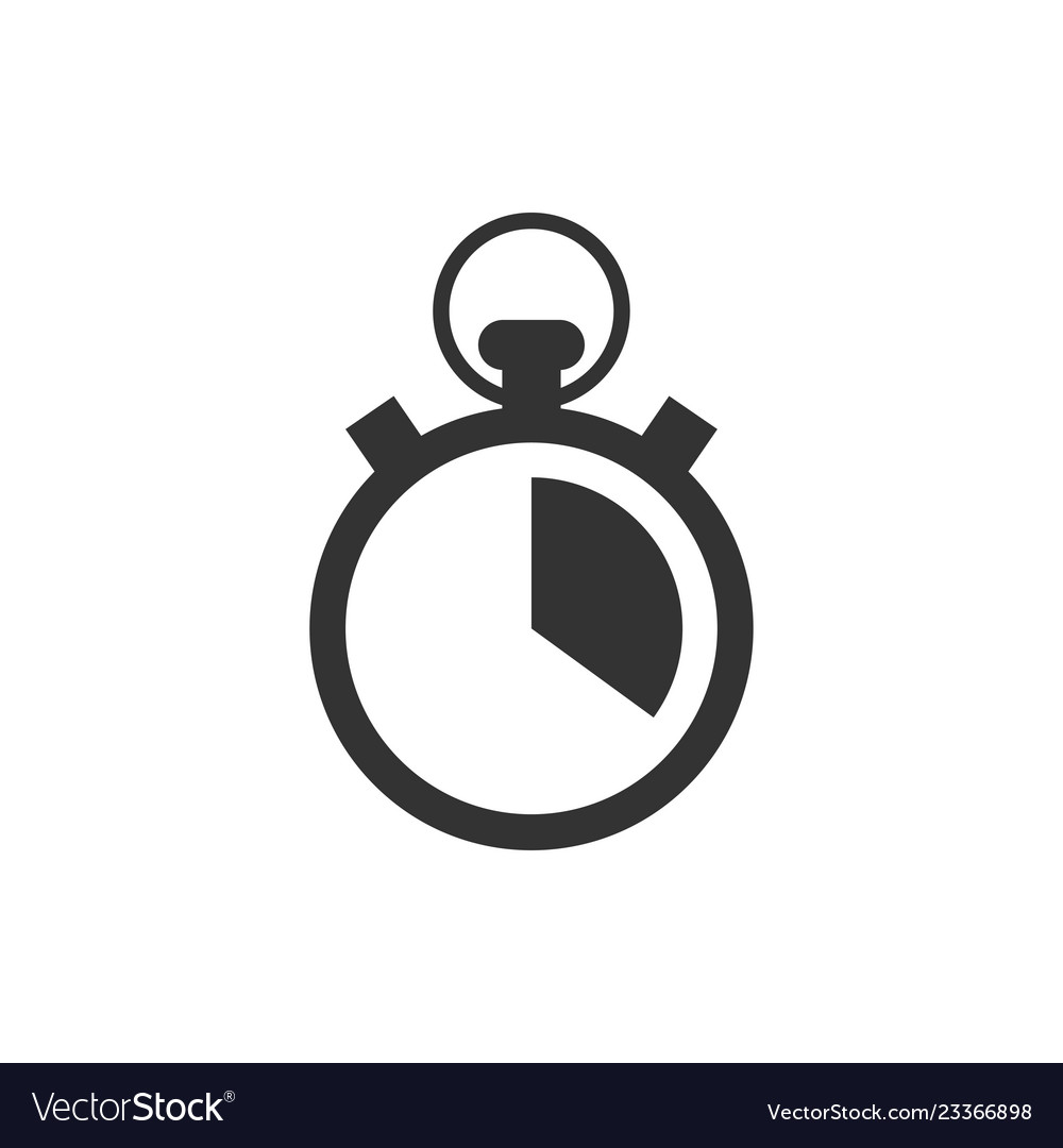 Stopwatch graphic icon design template
