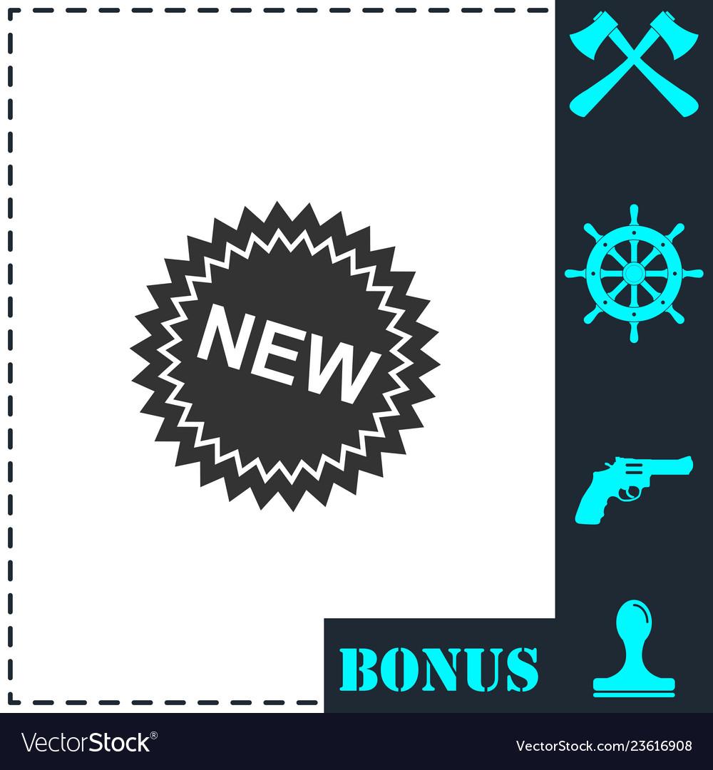 New icon flat