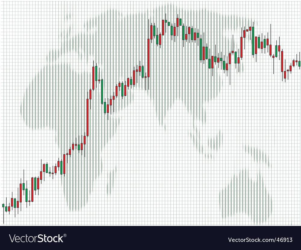 Business charts candlestick