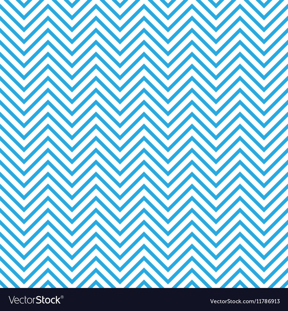 Seamless chevron pattern in blue and white
