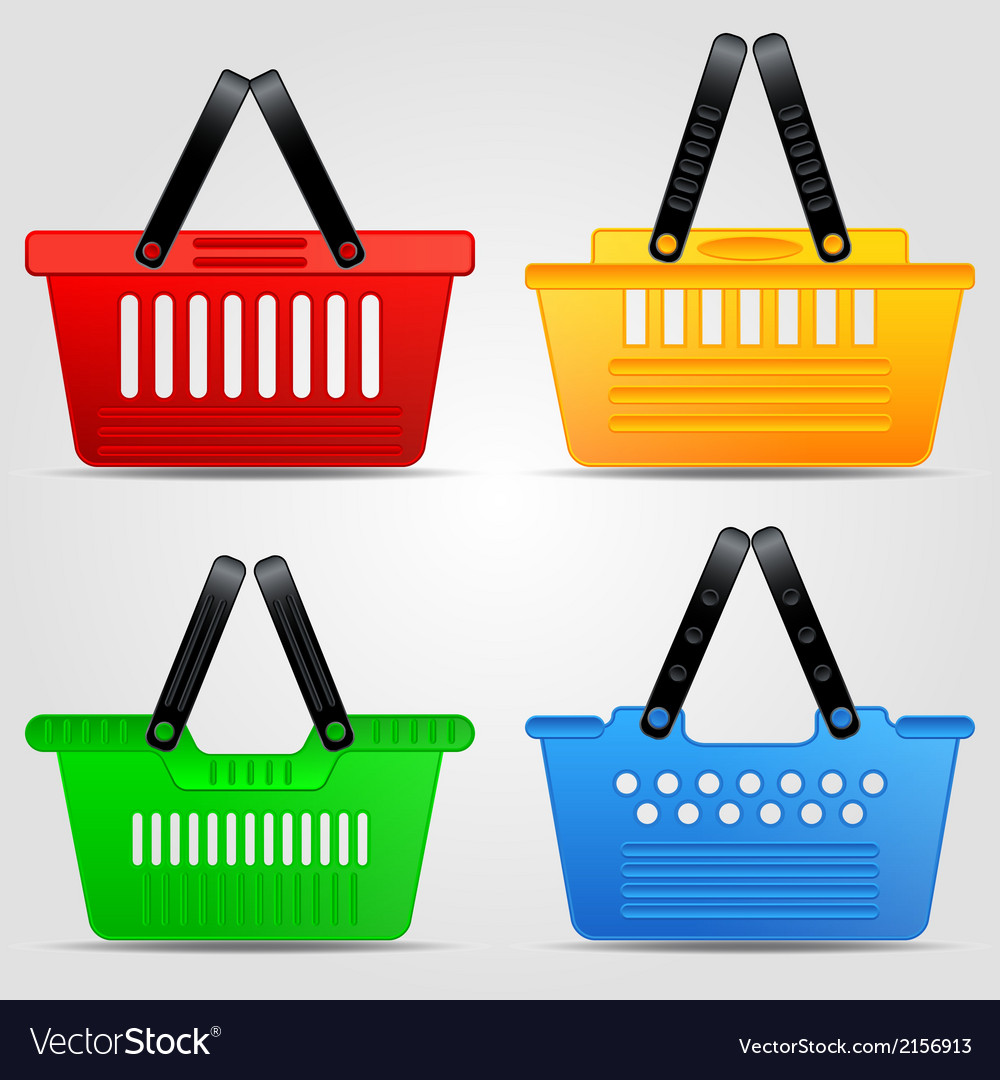Shopping baskets set