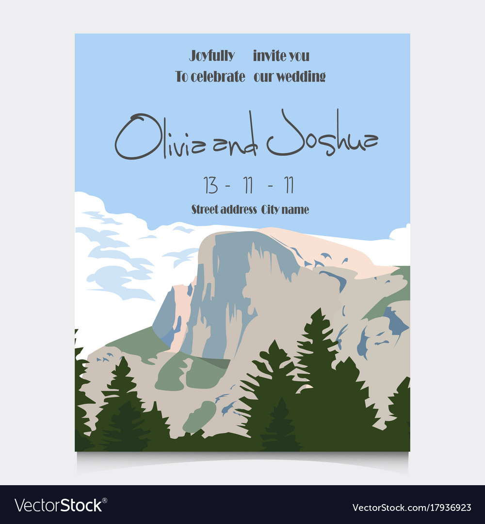 https://cdn4.vectorstock.com/i/1000x1000/69/23/wedding-invitation-with-mountains-invitation-card-vector-17936923.jpg