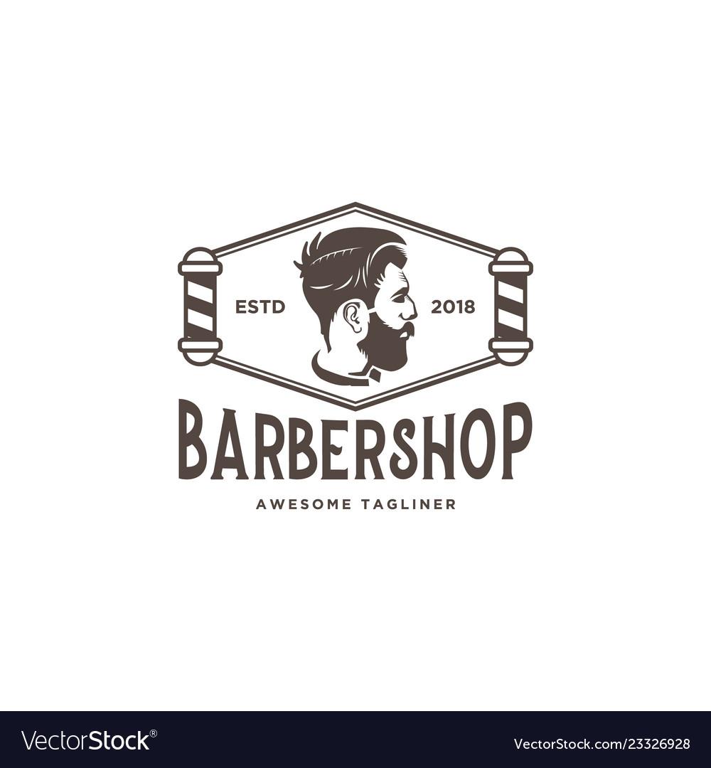 Barber shop logo design inspiration