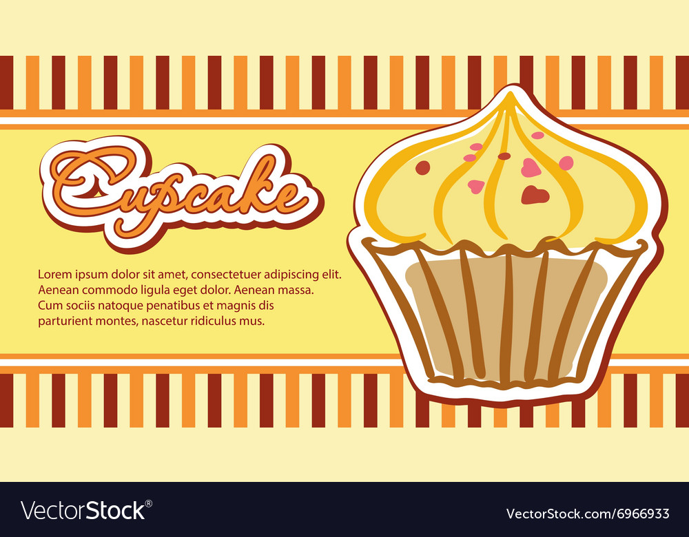 Cards with cupcakes