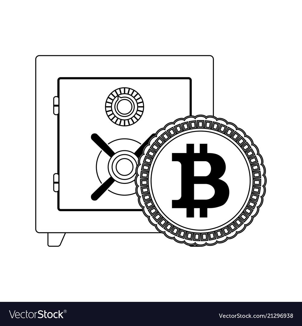 Deposit box safe for storage bitcoin