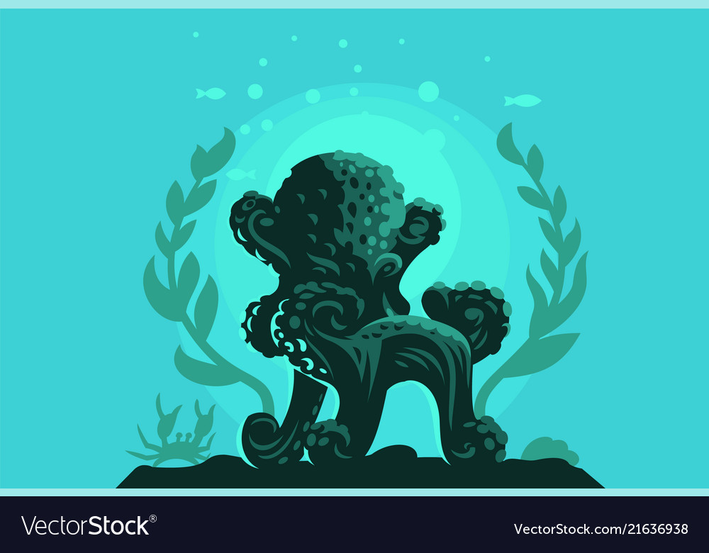 Octopus in form a chair