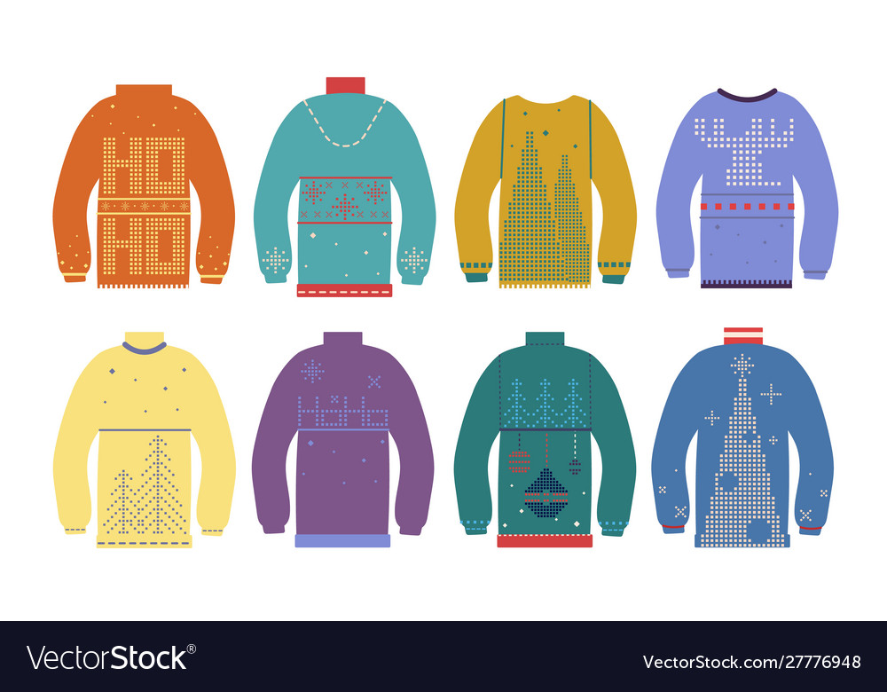 Ugly christmas sweater traditional xmas jumpers