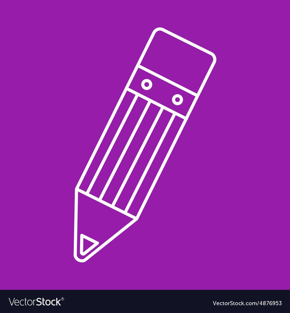 Pencil icon Eps10