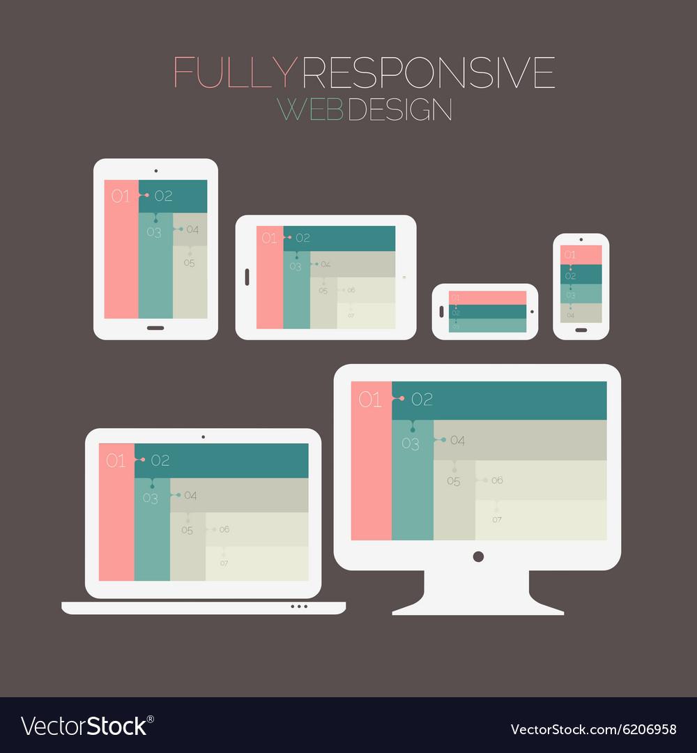 Responsive Webdesign Technology Page Design