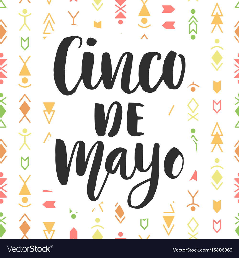 Cinco de mayo mexican holiday poster