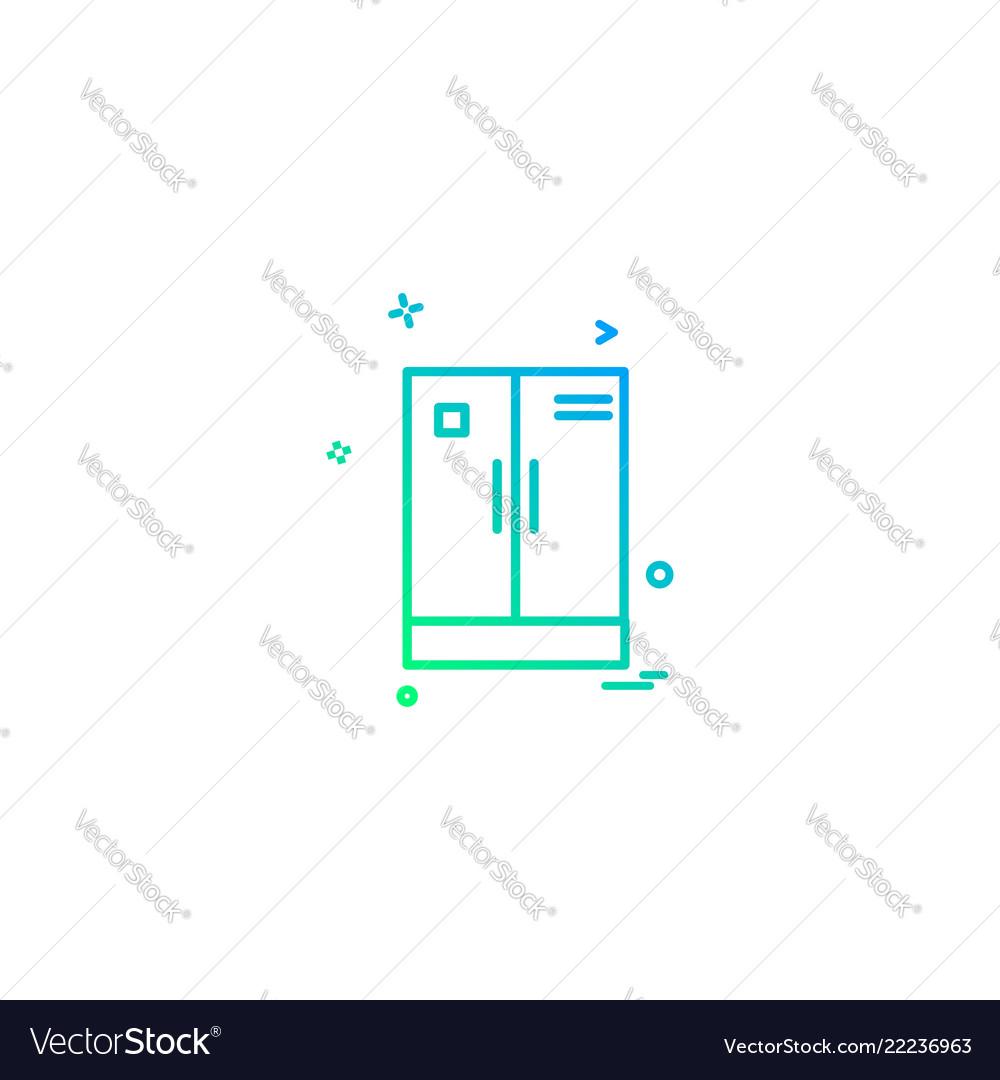 Cupboard icon design
