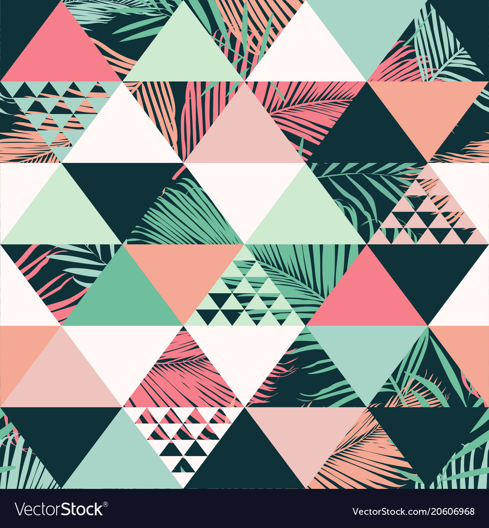 Abstract trendy seamless pattern
