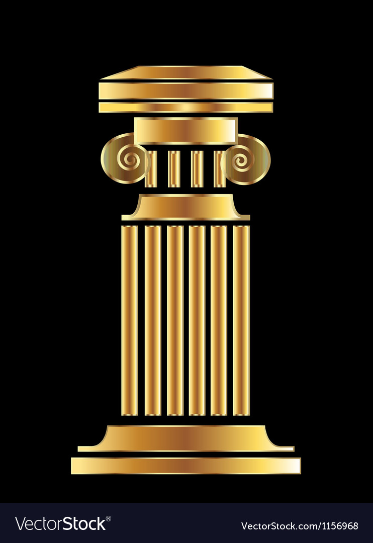 Gold column