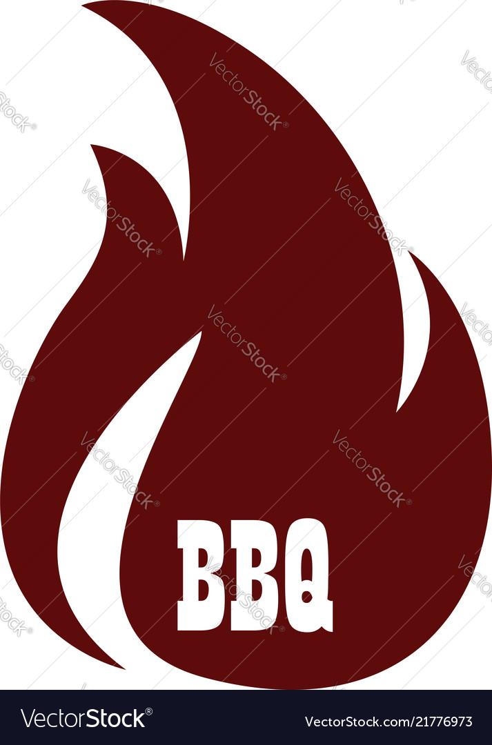 Bbq icon logo