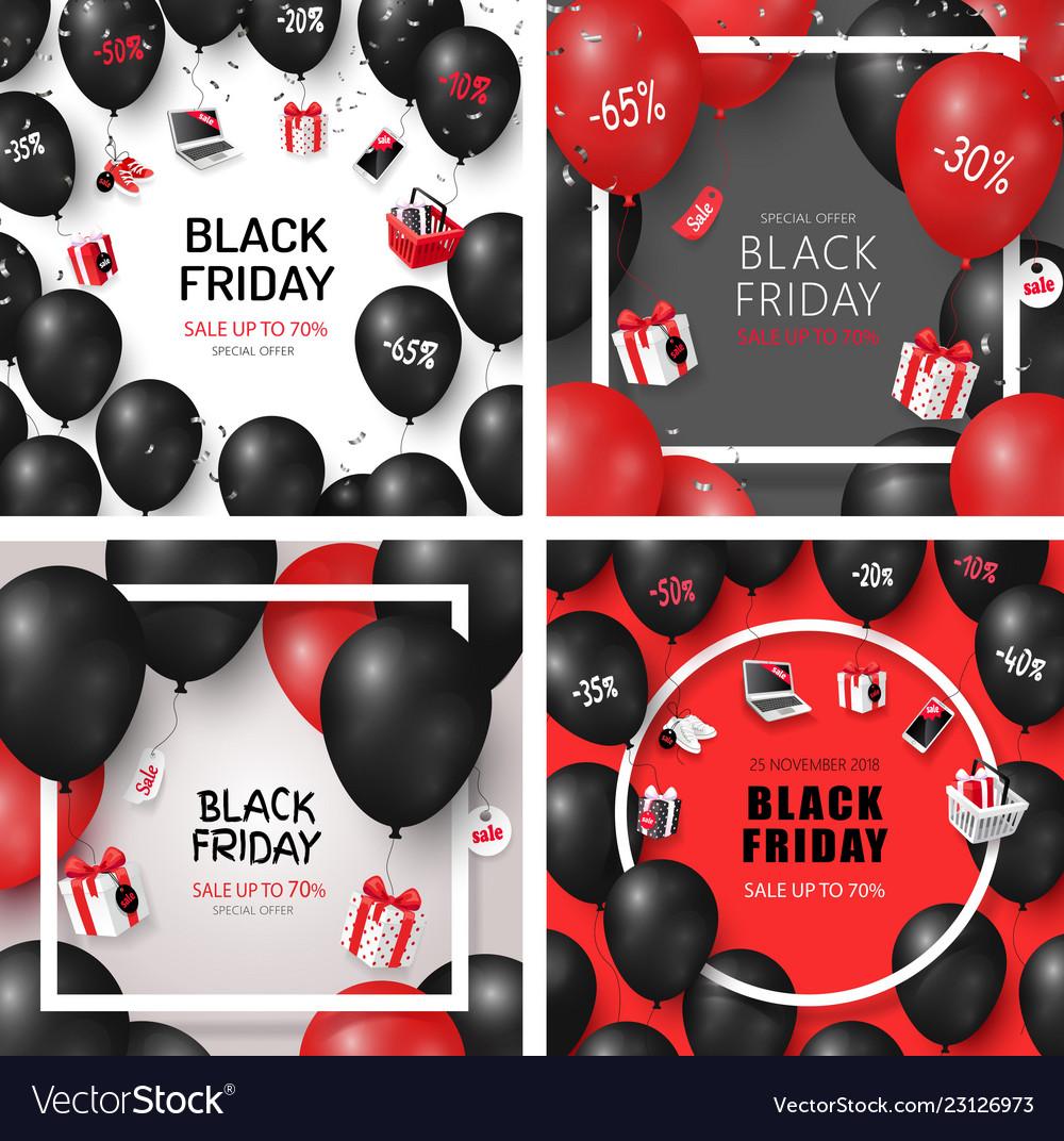 Set black friday sale cards